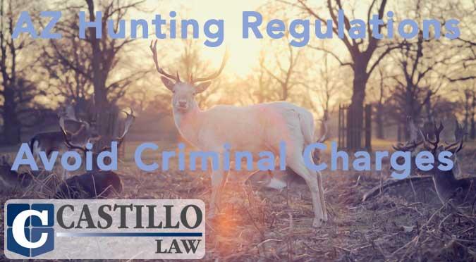 Hunting castillo law for Arizona fishing regulations